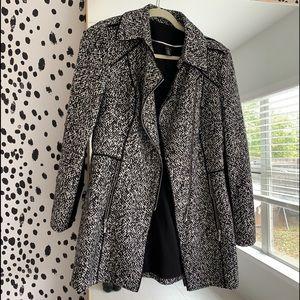 Black & White coat size S